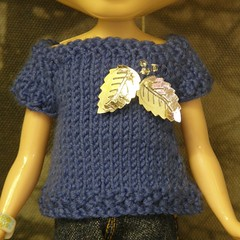 Frosted Leaves Sweater