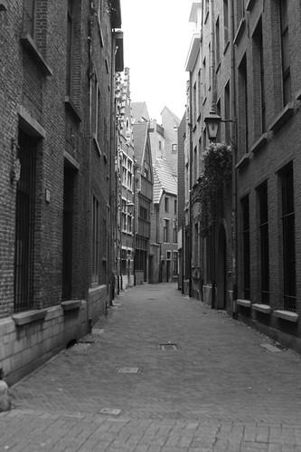 Medieval Antwerp.