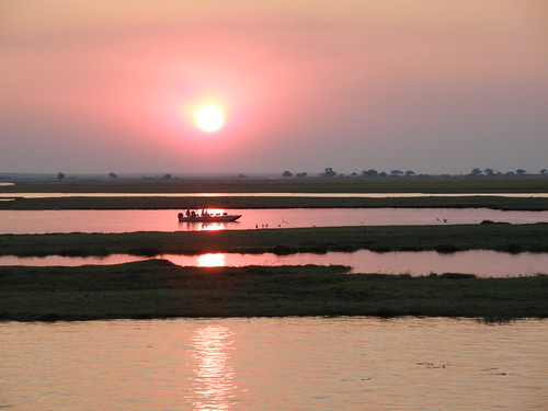 beautiful Chobe River in Botswana