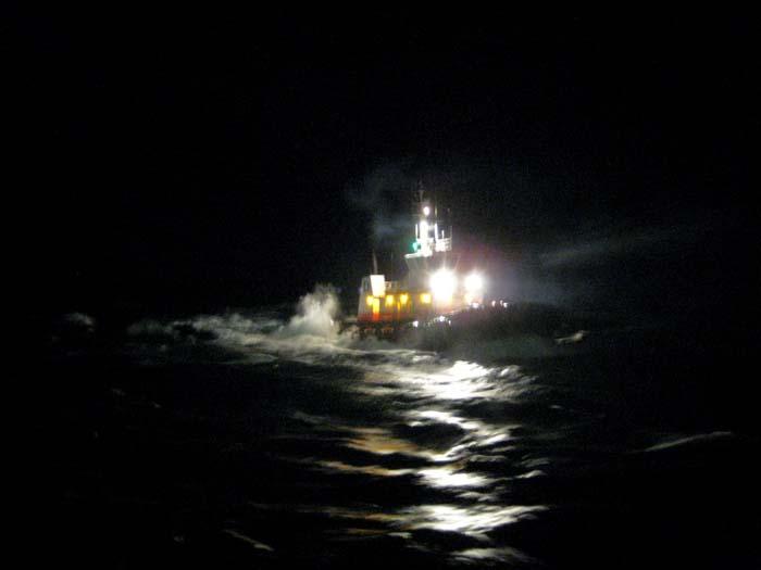 Tug Approaching