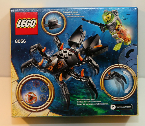 LEGO Atlantis 8056 - (Box Back)