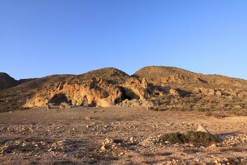Rocky hillsides near Cap Tamri.