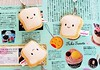 plush bread cell straps (iheartkitty) Tags: cute smile japan bread happy cell plush kawaii strap cottonfood
