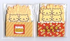 nyanko french fry memos (iheartkitty) Tags: cute frenchfries memo kawaii sanx nyanko