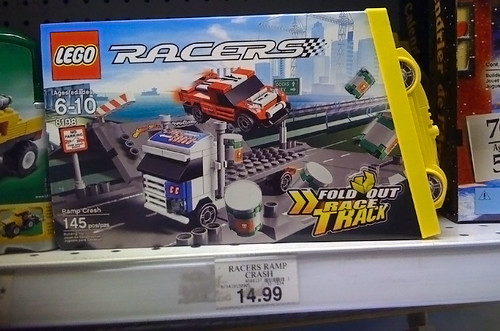 LEGO 2010 Sets Spotted at Toys R Us - Racers 8198 - Ramp Crash