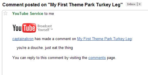 My first theme park turkey leg