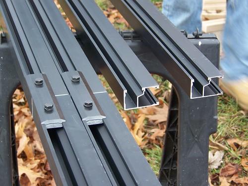 Spliced and unspliced racks