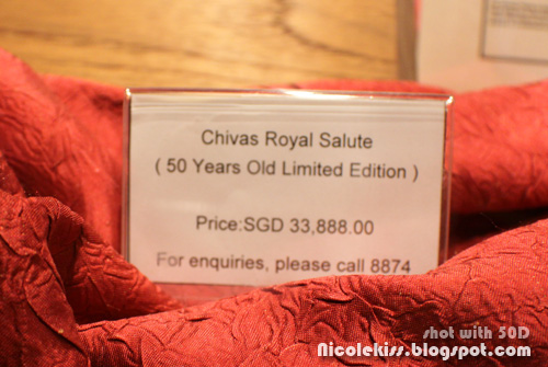 $30k 50 year old chivas
