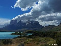 Lago Pehoè - Patagonia - Chile (explore) (Marioleona) Tags: chile shadow patagonia mountains clouds landscape nuvole wind paisaje mario paisagem mount andes cile cuernos paesaggio montanhas vento cordillera montañas landschap torres paine superstarthebest mariobrindisi cainapoli pehoè peregrino27newvision