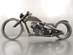 Metal art Motorcycle