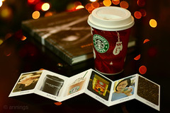 2010 Starbucks Planner (annings) Tags: christmas coffee lights bokeh starbucks planner redcups starbucksplanner starbucks2010planner