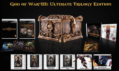 Agarraos los machos: God of War III Ultimate Trilogy llegará a Europa