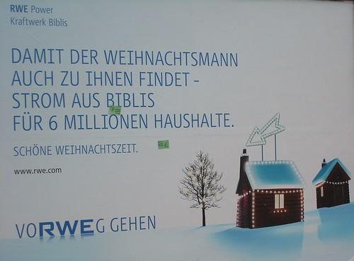Die Weihnachtslüge von RWE