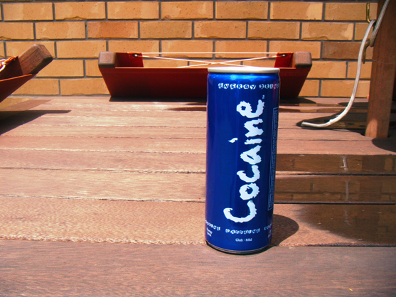 Anyone for a can of Cocaine?