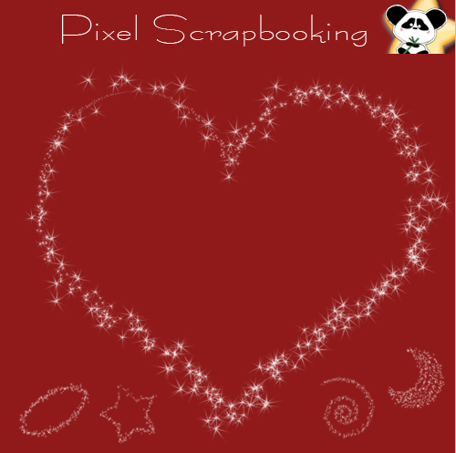 Digital scrapbooking star freebie