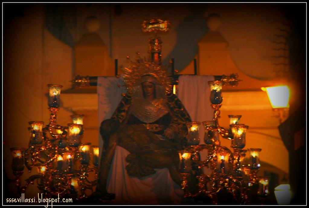 Santísimo Cristo de la Misericordia y Nuestra Señora de la Piedad. Miércoles Santo 2009