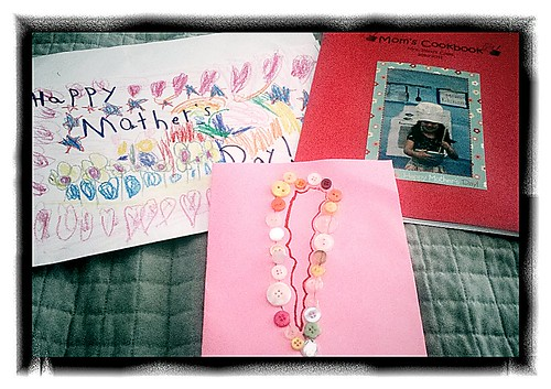 I love handmade Mother's Day gifts from Princess D!