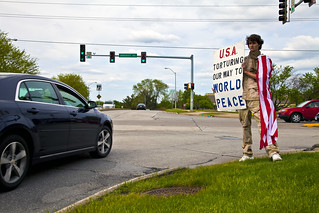 Anti-Torture Vigil - Week 48: USA - Torturing Out Way to World Peace