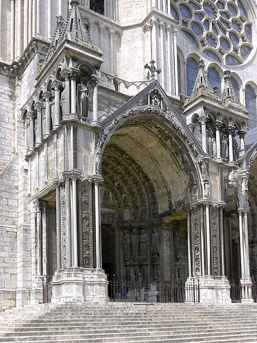 Main entrance Chartres Cathederal