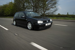 VW Golf MK4 rolling shot 2 (andrewodellphotography) Tags: show black slr car vw digital photoshop golf northampton nikon shot low modified capture dub digitalslr rolling alloys carshow slammed coilovers porshe mk4 dubbing earlyedition d80 rollingshot nikond80 vwgolfmk4 porshealloys andrewodell andrewodellphotography