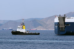 """Alexander 3"" tug boat (Tilemahos Efthimiadis) Tags: sea boat hellas greece 100views tugboat tug 50views alexander3  saronikos"