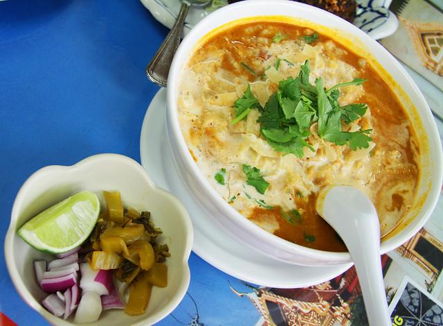 Khao Soi or Northern Thai Egg Noodles.