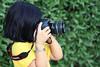Camera project  [5/1] (عفاف المعيوف) Tags: camera canon project تصوير أصفر أخضر طفلة كاميرا كانون بنوته بروجكت