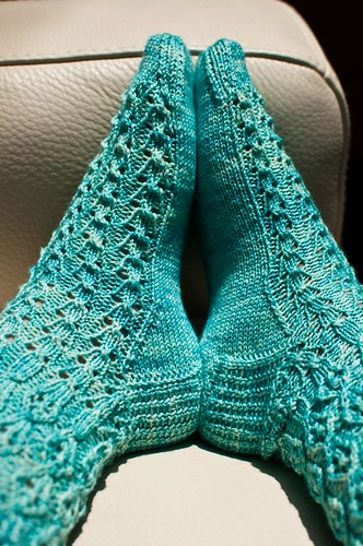 Ooo my Oolong Socks - Finished!