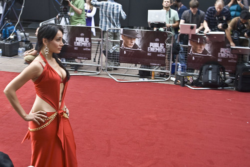 UK Premiere of Public Enemies (29.06.2009) more pictures of this woman inside