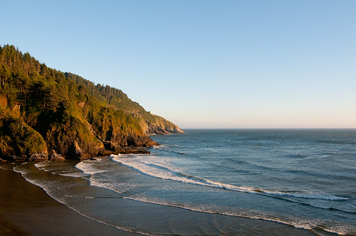 Sunset at Heceta Head