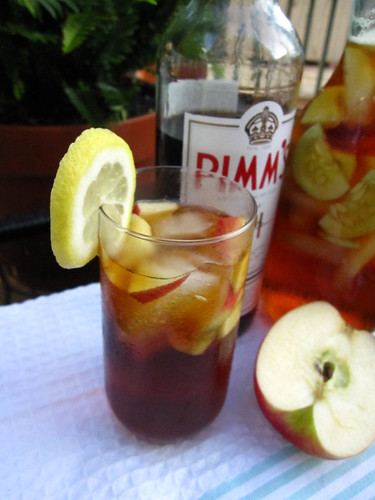 Pimm's and lemonade