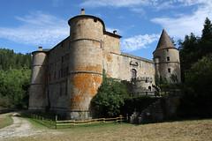 Château de Roquedols à Meyrueis en Lozère (Cévennes)