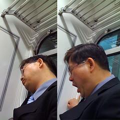 sleepy ajosshi (superlocal) Tags: man apple drunk subway macintosh korea suit photoblog sleepy 3g seoul photolog salaryman seul iphone icn séoul img0322jpg 汉城 弘益大学 superlocal takenonaniphone ajosshi