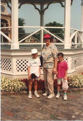 Me grandma and lisa