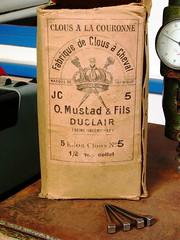 Boîte de clous à cheval Mustad