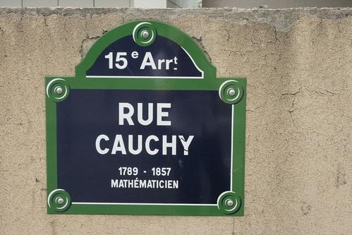 Rue Cauchy - Cauchy Street