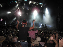Lovebox Weekender (russelljsmith) Tags: uk friends party england music london festival fun concert victoriapark europe gig drinks drunks persons instruments emotions 2009 actions lovebox loveboxweekender 77285mm loveboxweekender2009 lovebox2009 lastfm:event=861454