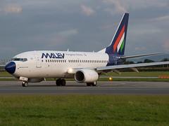 Malev Boeing 737-7Q8 HA-LOR (Irish251) Tags: ireland dublin airport boeing 2009 dub 737 dublinairport boeing737 737700 malev eidw halor 7377q8