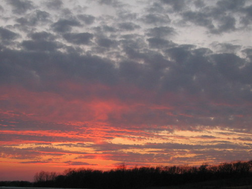 Sunset, March 2006