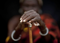 Loluguk, Turkana Chieftain's hands - Kenya (Eric Lafforgue) Tags: africa people hands kenya culture tribal explore tribes afrika stick tradition tribe ethnic mains baton tribo canne afrique ethnology tribu eastafrica 7000 turkana qunia lafforgue ethnie fivestarsgallery ethny  qunia    kea    a