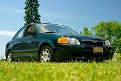 2000 Mazda Protege SE, in better times