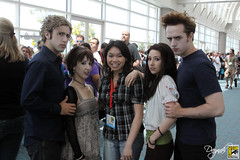 Daynah with the Twilight Parody Cast