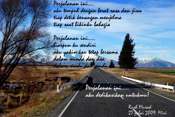 Puisi: Perjalanan Ini.....