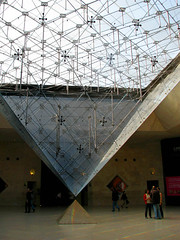 Entering the Intriguing Louvre