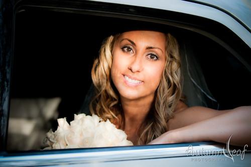 Mandi and Pierre - Here comes the bride