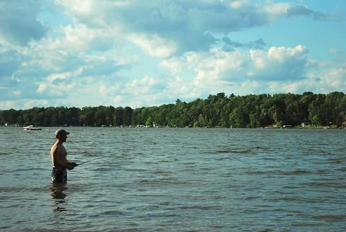 K dock fishin