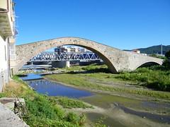 Savona, Zinola: ponte medievale sul torrente Quiliano, tra Zinola e Vado Ligure
