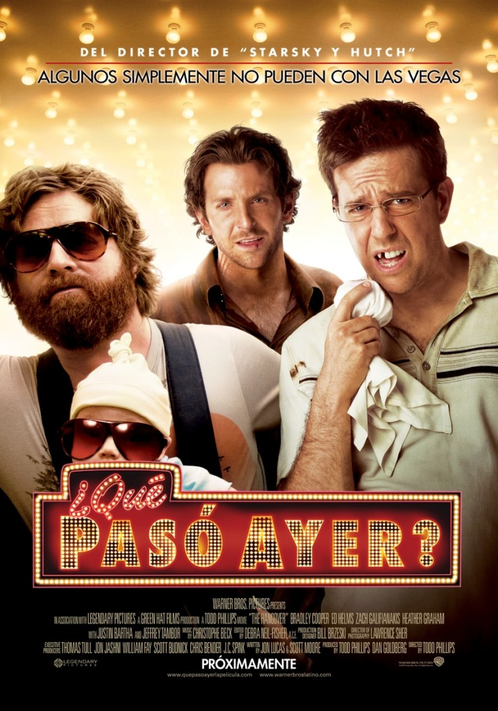 poster película The Hangover