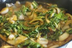 Sautéed Onion and Chard