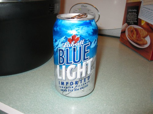 1034-2 Labatt Blue Light